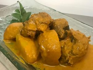 Vegetarian Curry Mutton