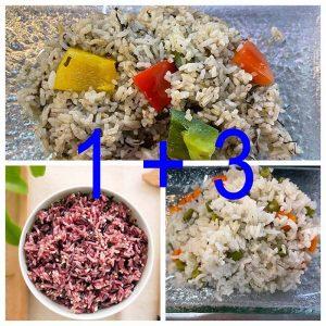 Fried/Brown Rice Set 1 + 3