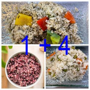 Fried/Brown Rice Set 1 + 4