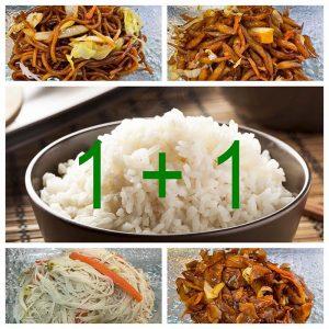 Noodle/Rice Set 1 + 1