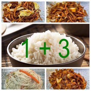 Noodle/Rice Set 1 + 3